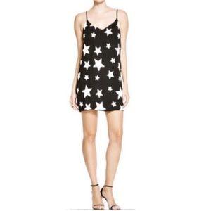 Design Lab Lord + Taylor Stars Shift Dress Large